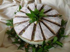 La torta ricotta e pistacchio...il delirio...Per questa buonissima torta ho fatto una base friabile non il solito biscuit usando l'impasto dei polvorones.