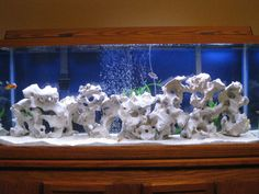 fake rocks for cichlids - Google Search