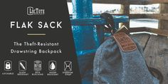 LocTote Flak Sack - Total Security - Peace of Mind.