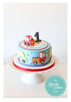 bolo 1 aniversario / 1st birthday cake - The Family Cakes
