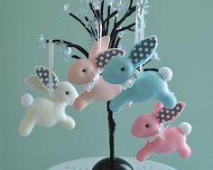 Felt Easter Bunny Easter One Bunny Decoration Bunny