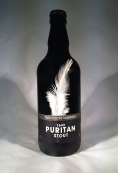 cox brewery feather bottle - Google Search