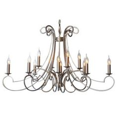 London Square 12 Arm Chandelier OUR PRICE  £479.99 RRP £1,249.99