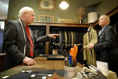 Step inside Josephson's clothing store in downtown Red Wing, Minn., and step back in time. Aging oak cabinets line the walls. Pine floors, strong enough to drive a truck on, moan underfoot. WCCO has named them the Best Men's Store in Minnesota.