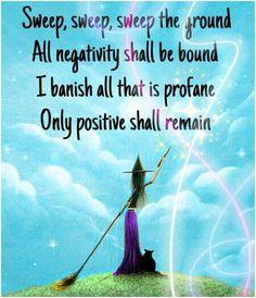 positivity spell