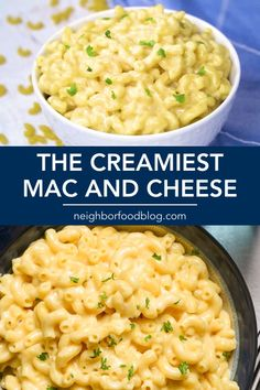 NeighborFood Everyone LOVES this ultra Creamy Mac and Cheese recipe you can make on the stove top in 30 minutes or less! This Macaroni and Cheese is an easy side dish for the holidays or save it for a vegetarian dinner the adults and kids will both love! Crockpot Mac And Cheese, Cheesy Mac And Cheese, Creamy Macaroni And Cheese, Macaroni Cheese Recipes, Mac And Cheese Homemade, Creamiest Mac And Cheese, Cooking Macaroni, Vegan Mac And Cheese, Sweet Tomatoes Mac And Cheese Recipe