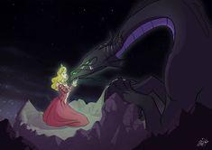 Aurore by JazonWhite on DeviantArt Maleficent Aurora, Sleeping Beauty Maleficent, Disney Princess Aurora, Disney Sleeping Beauty, Disney Villains Art, Disney Fan Art, Arte Coral, Disney Style Drawing, Princess Adventure