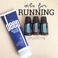"""Forced myself out of bed this morning at 4:45 so I could squeeze in a run with my husband before he had to head to work. It felt good to be out running, but it had a WHILE and I sure as heck am not a real runner like him. If it weren't for my handy dandy oils, I probably wouldn't be able to even walk today. Haha ••••••••••••••••••••••••••••••••••••••••••• There are lots of great oils for running or working out, but these are my """"go to"""" choices most of the time! 1⃣DEEP BLUE RUB- my husband…"""