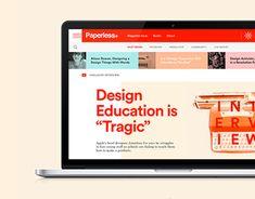 Vedi questo progetto @Behance: \u201cPaperless®\u201d https://www.behance.net/gallery/21381345/Paperless