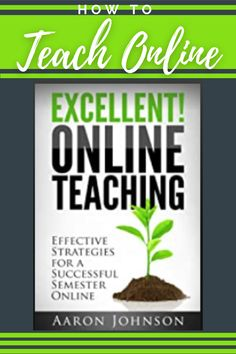 Tips and directiosn to successfully teach online. Teacher Blogs, New Teachers, Teacher Hacks, Best Teacher, Teaching Skills, Teaching Strategies, Teaching Resources, Classroom Management Strategies, Learning Objectives