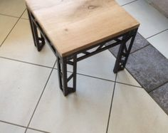 Meuble TV industriel / Table basse industrielle / by MetalBois