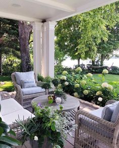 Feature Friday: Sweet Shady Lane – Southern Hospitality – Famous Last Words Outdoor Furniture Sets, Outdoor Decor, Home, Outdoor Rooms, House Exterior, Backyard Decor, Porch Design, Porch Life, Outdoor Design