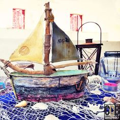 altered art sailboat mixed media tattered angels video tutorial how to