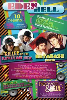 10.07.2010 Killer on The Dancefloor e Database H&H