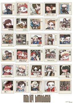 NCT 127 - LIMITLESS chibi pictures
