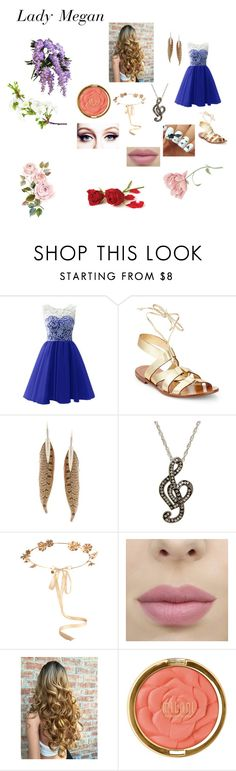 """""""I think I love you too"""" by dansetmyheartonfire on Polyvore featuring Kate Spade, Roberto Cavalli, Eugenia Kim and Milani"""