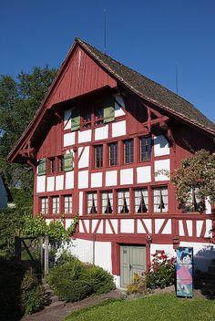 Johanna-Spyri-Museum of Hirzel, Canton of Zürich, Switzerland