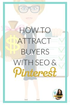 Pinterest has its own internal search engine and if you apply SEO tactics correctly in Pinterest you will appear on top or near the top of the Pinterest search engine results and that too will drive more interested traffic to your Pinterest page, boards and pins. Learn more at http://www.whiteglovesocialmedia.com/pinterest-business-attracting-buyers-seo-pinterest/ | Pinterest for Business Tips by Pinterest Marketing Expert Anna Bennett