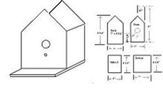 Wood duck nest box plans bird houses bird feeders for Hummingbird house plans