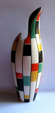 cerâmica modernista em portugal: Jarra - Aleluia