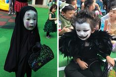 The Little Girl Who Dressed Up As No-Face Last Year Has Possibly Just Outdone Herself