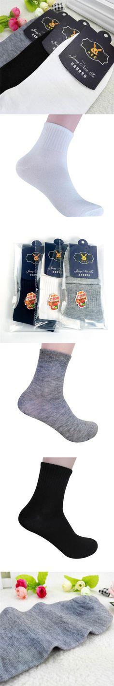 Brand 5PCS High Quality Mens Business Cotton Socks Casual Gray Black White Socks Solid Color Hot Sale Miesten sukat #DD