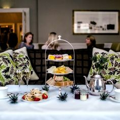 Afternoon Tea at the Drawing Room in the Balmoral Hotel Edinburgh