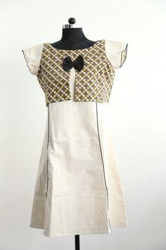 Khadi Ajrakh dress