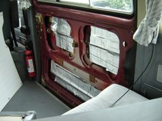 Dan's Vanagon Mods and Hacks - Peel & Stick roofing repair tape for soundproofing.