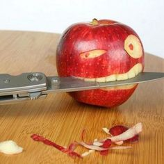 Fruit & Vegetable Carving - Fun ways to carve apples