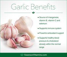 Smoothie Ingredients: The 15 Best Healthy Smoothie Ingredients Cinnamon Health Benefits, Garlic Health Benefits, Healthy Herbs, Healthy Juices, Healthy Tips, Healthy Foods, Healthy Eating, Garlic Supplements, Coconut Oil Coffee