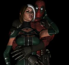 Rogue and Deadpool