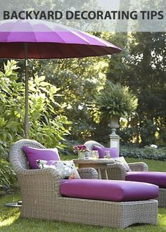 The Best Backyard Decorating Tips!