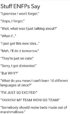 """Except for """"what do you mean I can't learn 10 different languages at once"""", I have said all of these"""