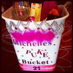 I'm gunna do this for my friend's next birthday hahaha  #pukebucket