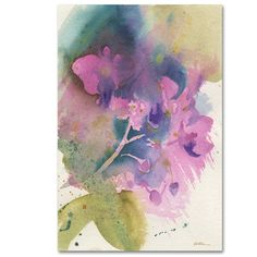 Orchid Dream by Sheila Golden Painting Print on Wrapped Canvas