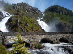 Parádní vodopády též z Norska