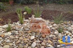 Garten- und Landschaftsbau Firewood, Stepping Stones, Texture, Outdoor Decor, Plants, Home Decor, Backyard Landscaping, Homemade Home Decor, Surface Finish