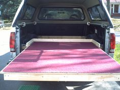 Home made bedslide - Sunline Coach Owner's Club