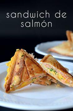 este sandwich de salmón esta realmente delicioso, es rapido y muy rápido de preparar