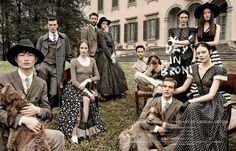 visual optimism; fashion editorials, shows, campaigns & more!: a day in broni: kinga, vittoria, pong, kate, mina, elia, john, alexandre and sang woo by giampaolo sgura for vogue japan june 2015