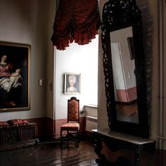 #Raum mit Spiegel #museum #momentaufnahme #zeitz