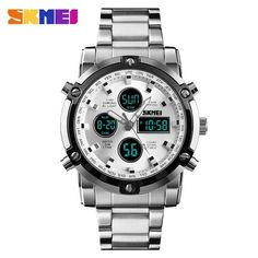 Digital Watches Men's Watches Skmei Compass Sports Watches Relogio Masculino Clock Countdown Wristwatches Compass Pedometer Calorie Mileatge Digital Watch Aesthetic Appearance