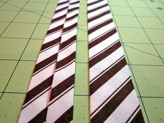 Bias Binding: Figuring Yardage, Cutting, Making, Attaching | Sew4Home. Great simple formula for figuring how much fabric is needed for bias tape making.