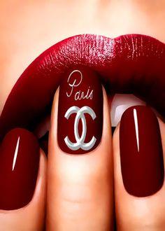 CHANEL manicure ᘡղbᘠ