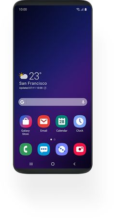 Multiple smartphones with simulated images of One UI screens Home Screen Pictures, Large Screen Tvs, Flat Screen, Samsung Galaxy Wallpaper Android, New Google Pixel, Lcd Television, Android Design, Light Emitting Diode, Samsung Mobile