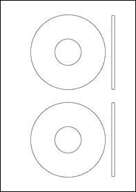 EU30086  125mm X 70mm Blank Label Template | Blank A4 Label Templates |  Pinterest