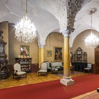 Representative rooms on the Konopiste castle. Join us for half day trip to this amazing Archduke Franz Ferdinand castle. Visit our website and book now !