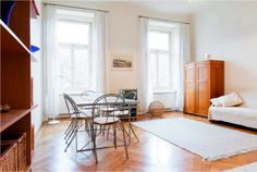 The most popular quarter of Budapest is only some clicks from you. The apartment situated on the Liszt Ferenc square, in the middle of the great pedes...