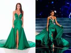 Miss Washington, Cassandra Searles.   The Definitive Ranking Of All 51 Miss USA Contestants' Evening Gowns